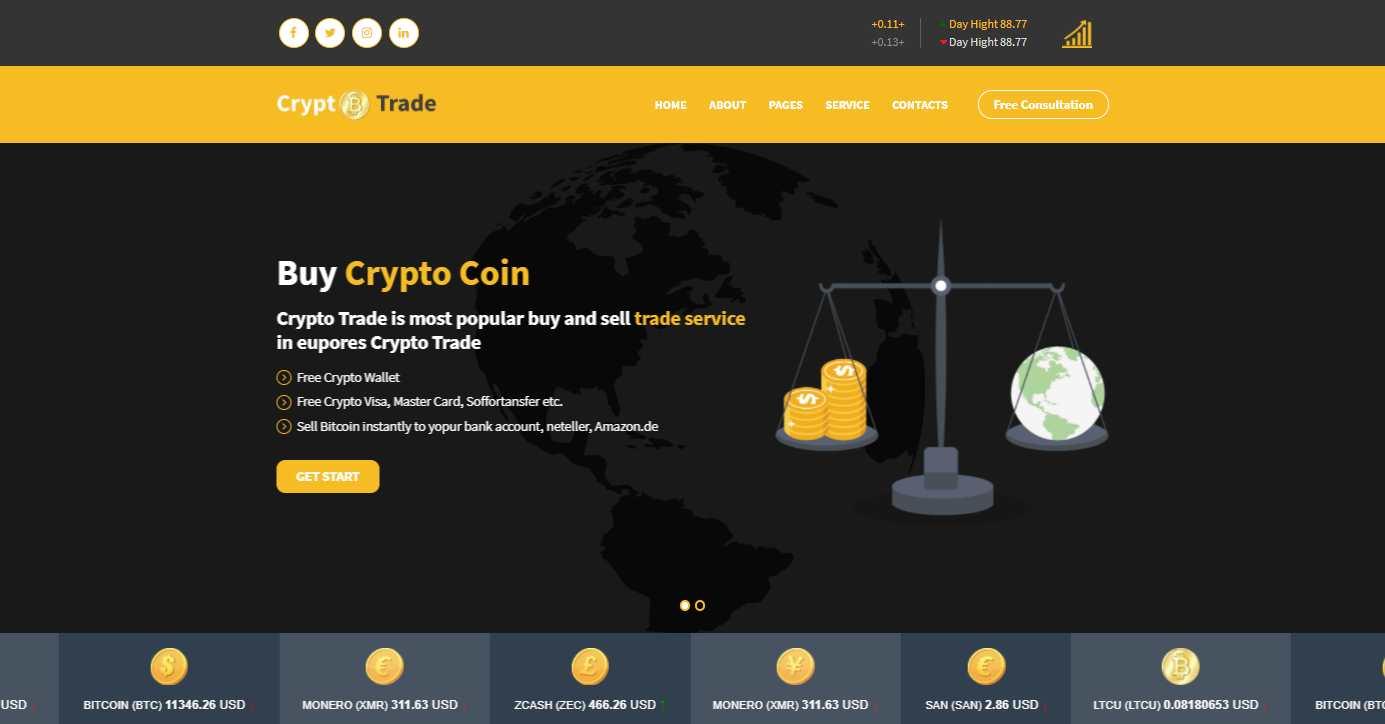 bitcoin html