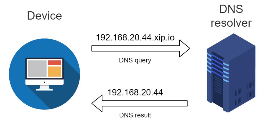 Resolve Domain to Ip Address DNS Resolver